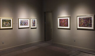 The Dust on Butterflies' Wings:  A Pastel Invitational, installation view