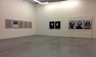 Raw/War - Bruce Eves, installation view