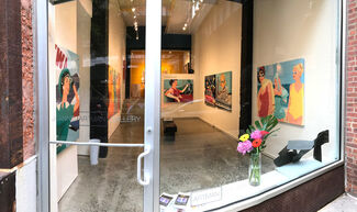 JoAnne Artman Gallery NYC, Presents: JAMES WOLANIN and JANE MAXWELL: Contemporary Consciousness - New York, installation view