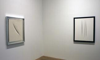 Lucio Fontana, installation view