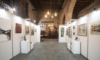 Arte en la Aduana de Oribe, Museos en la Noche, installation view