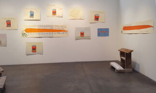 Michael Deyermond: This is My Heart Please Don't Use it Against Me, installation view