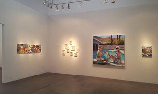 D.J. Hall: Dedication....., installation view