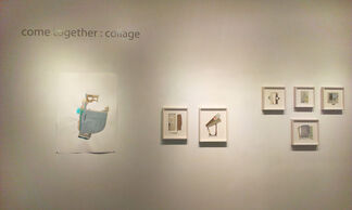 Come Together : Collage, installation view