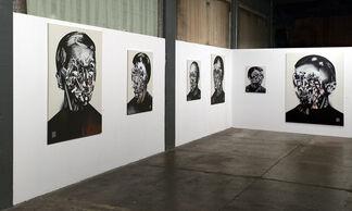 Bohdan Burenko: HEADS, installation view