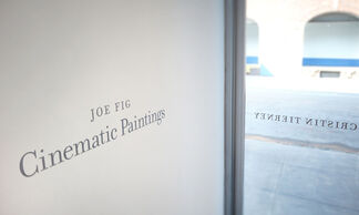 Cinematic Paintings, installation view