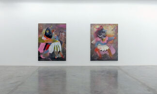 The Pretenders, installation view