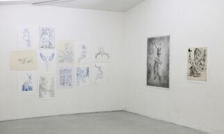 Hervé Heuzé: Mythologies -Works on Paper, installation view