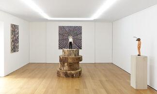 Stephan Balkenhol, installation view
