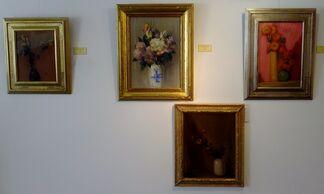 Leon Dabo: Jolie Fleurs, installation view