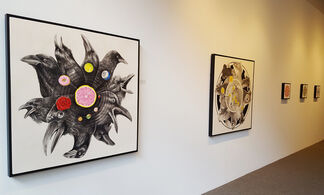 Zac Culler: Mandalas, installation view