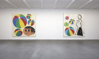 Donald Baechler Early Works, installation view