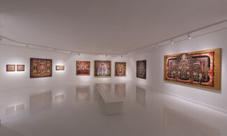 """Mercan Dede """"Ancient Time Machine"""", installation view"""