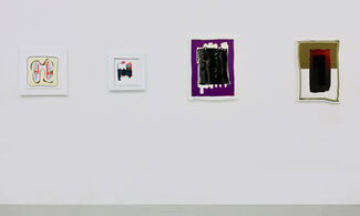 Oeuvres sur papier / Works on Paper, installation view