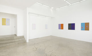 Tecate Dawn, Tijuana Noon, Calexico Supermoon, installation view