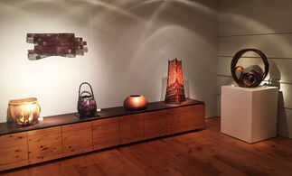 Masterpieces of Japanese Bamboo Art, installation view