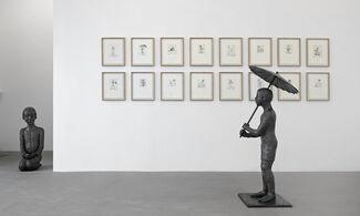 Lena Cronqvist: Torrnålar och skulpturer 2016 - 2018, installation view