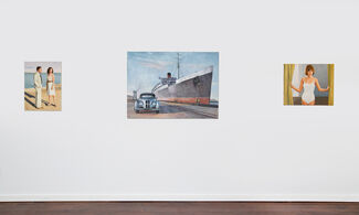 Duncan Hannah: Distant Marvels, installation view