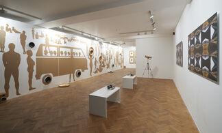 Mirrors & Echoes | Mary Evans and Emeka Ogboh, installation view
