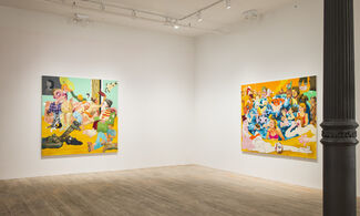 Pissing Match, installation view