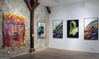 HOPARE - Solo exhibition - La Rue a du Charme, installation view