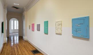 Rodrigo Cass: figures, gestures and passages, installation view
