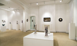 Shaping Ceramic FONTANA-GARELLI-LEONCILLO-MELOTTI Postwar italian ceramics, installation view