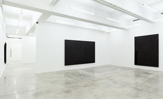 Ecriture: Black and White, installation view