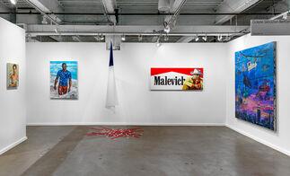 Galerie Sébastien Bertrand at Dallas Art Fair 2017, installation view