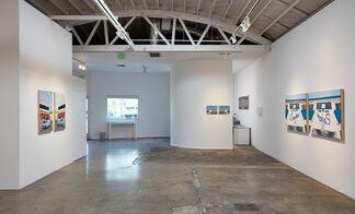 Katie Herzog with Andrew Choate: Exegesis Eisegesis Encaustic, installation view