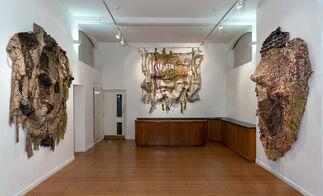 El Anatsui, installation view