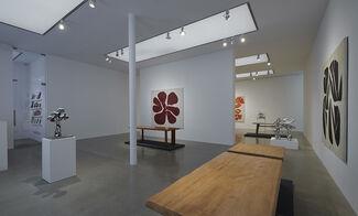 Freeform: Jean Dubuffet, Simon Hantaï and Charlotte Perriand, installation view