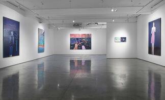Tom Hammick - Wall, Window, World, installation view