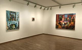 Vincent Bioulès - Au dedans et au dehors, installation view
