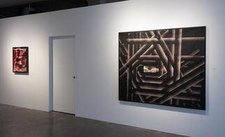 Pierre-Yves Girard: La ligne empreinte la courbe, installation view