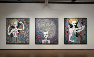 Del Kathryn Barton, pressure to the need, installation view