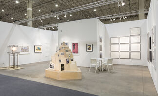 Edward Cella Art and Architecture at EXPO CHICAGO 2017, installation view