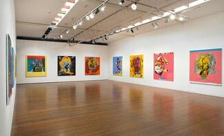 Gareth Sansom, Just Painting, installation view