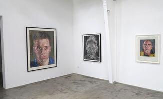 Chuck Close, installation view