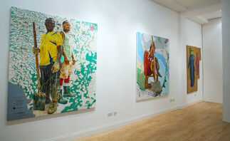 Two-Person Exhibition - Mohamed Said Chair & Jean-David Nkot 'Disarticulations', installation view