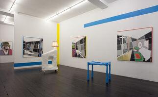 David Ben White: Inside Outside, installation view