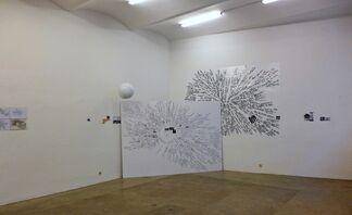 DAN + LIA PERJOVSCHI - I have no time for colour, installation view