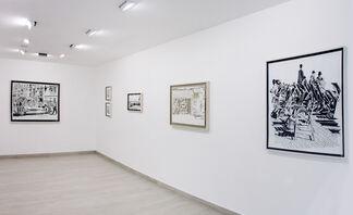 Thomas Witte: Cortes, installation view