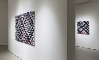 ED MOSES: THE GARDEN OF FORKING PATHS, installation view
