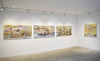 Masatake Kozaki : Becoming Place, installation view