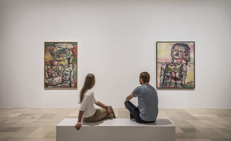 Georg Baselitz: The Heroes, installation view
