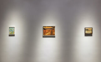 Peter Doig | Cabins and Canoes: The Unreasonable Silence of the World, installation view