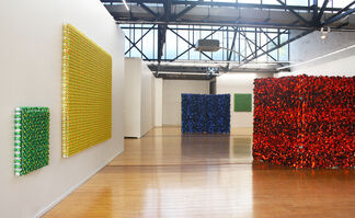 Red on Red, installation view