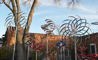 Mesmerizing Kinetics by artist Mark White, installation view