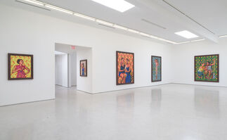 Kehinde Wiley -  The World Stage: Haiti, installation view